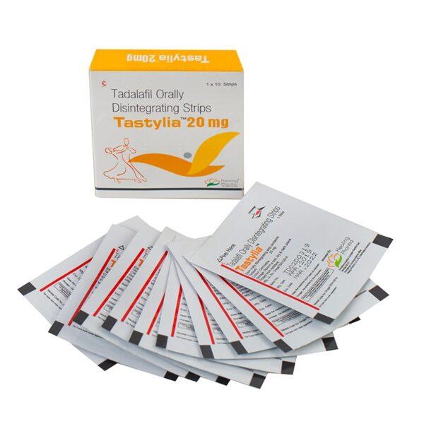 tadalafil orally 20 mg